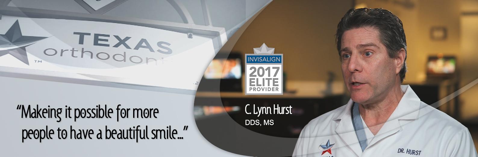 Lynn Hurst, DDS, MS Invisalign Elite Provider 2017
